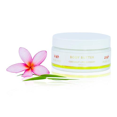 Pure Fiji Body Butter- Coconut Lime Blossom 235 ml