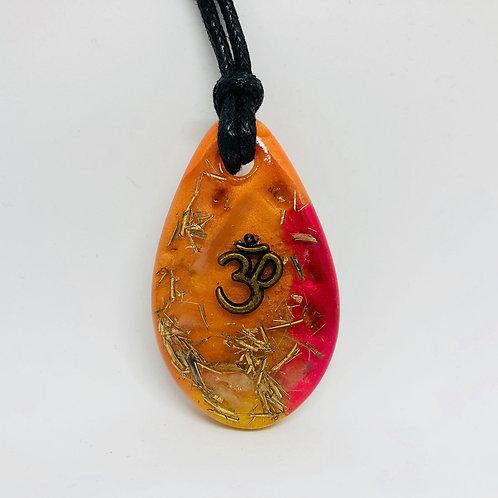 OrgonChi Artisan Pendants - Shimmering Sunrise (Om Collection)