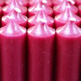 Eco Raspberry Red Candles (180ml)