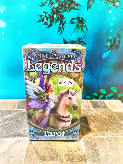 Legends Tarot deck by Anne Stokes