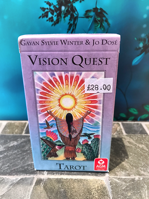 Visions Quest Tarot by Gayan Sylvie Winter & Jo Dose