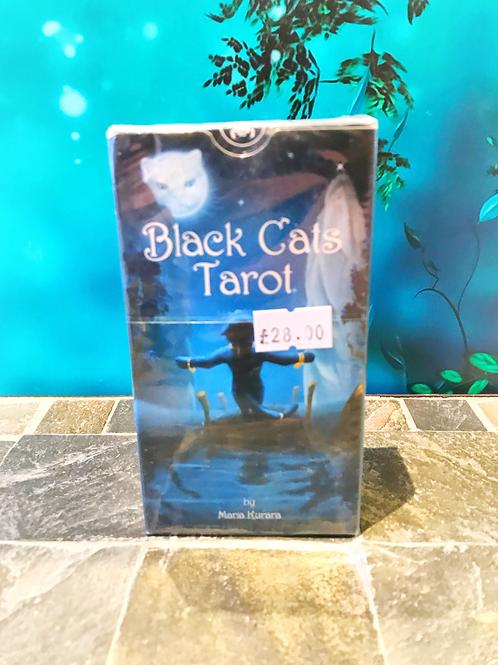 Black Cat Tarot by Maria Kuara