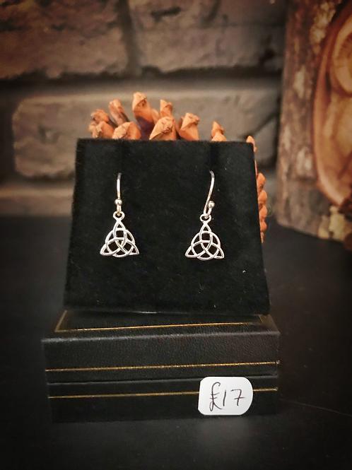Trinity Knot Celtic Earrings
