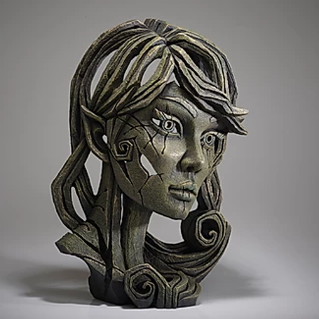 Edge Sculpture - Elf Bust (Leaf Green)
