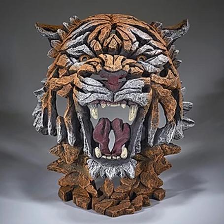 Edge Sculpture - Tiger Bust (Bengal)