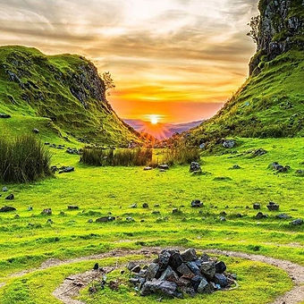 How suitable for today, The Fairy Glen o