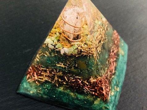 OrgonChi Artisan Pyramids Mother Earth