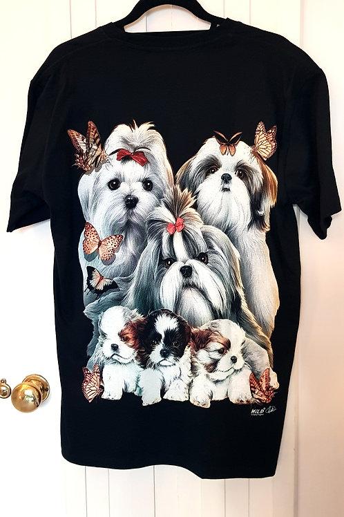 WILD Tshirts - Shihtzu Family