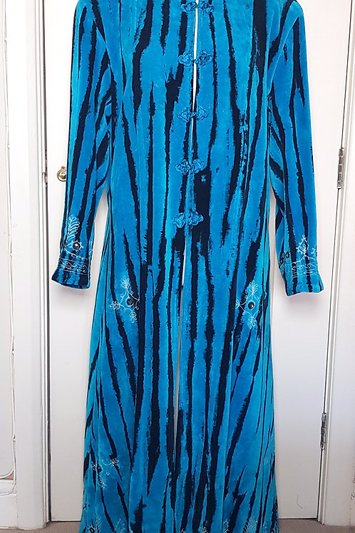 Loom Dragon Long Velvet Coat