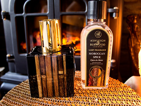 Midnight Collection: Bamboo Fragrance Oil Lamp Gift Set