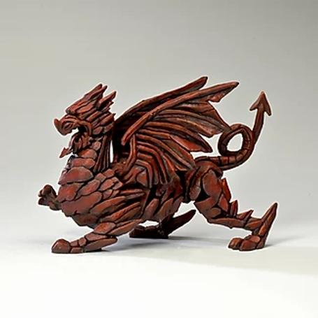 Edge Sculpture - Dragon (Red)
