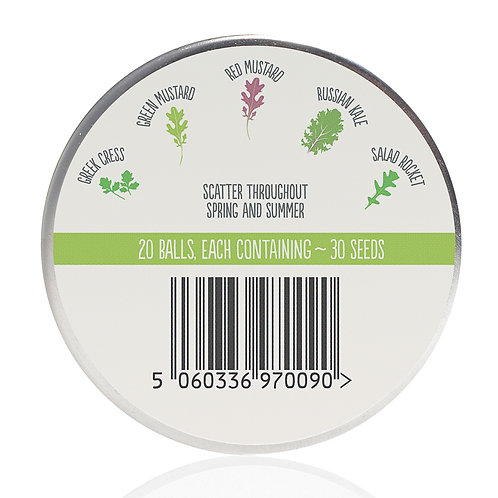 Seedball - Salad Mix