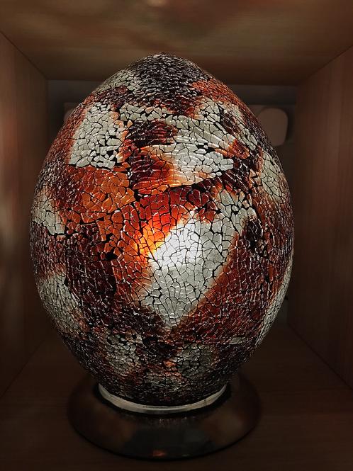 Mosaic Egg Lamp Large