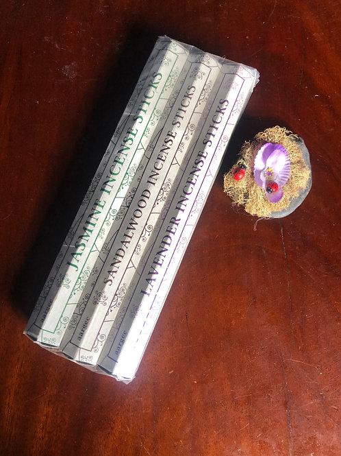 Special Offer Incense - Jasmine, Sandalwood & Lavender