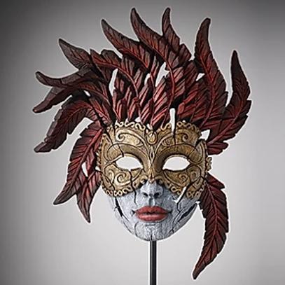 Edge Sculpture - Venetian Carnival Mask (Masquerade)