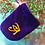 Thumbnail: Velvet tarot card bags with embroidered symbols - 8 designs