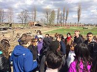 JF with students in Birkenau 4-2015.JPG