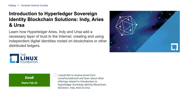 Introduction to Hyperledger Sovereign Identity Blockchain Solutions