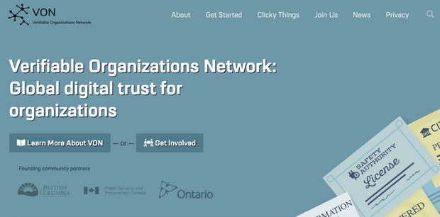 Verifiable Organizations Networki