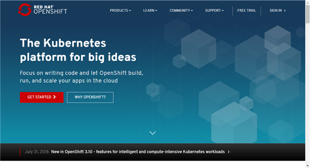 Red Hat's Openshift