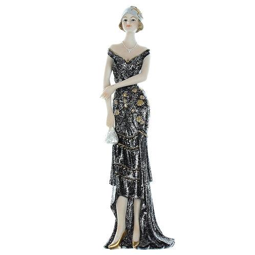 Broadway Belles Black Dress 32cm - Eleanor