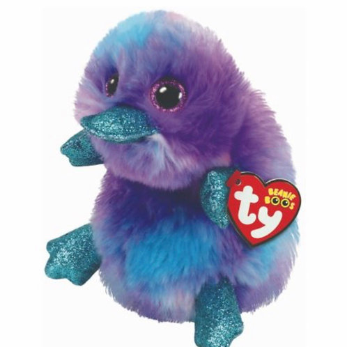Zappy purple platypus