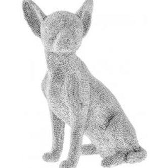 Sitting Chihuahua, 24cm