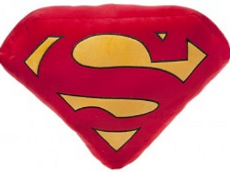 Superman (DC Comics) logo cushion