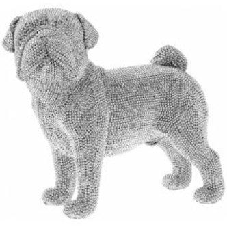 Standing Pug, 21cm