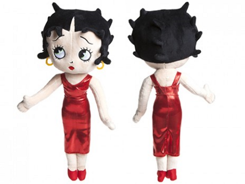 Betty Boop plush in cocktail dress 45cm