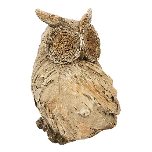 Naturecraft Collection Resin Owl Figurine - 22.5cm