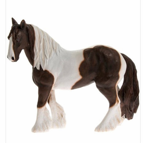 Small brown and white cob