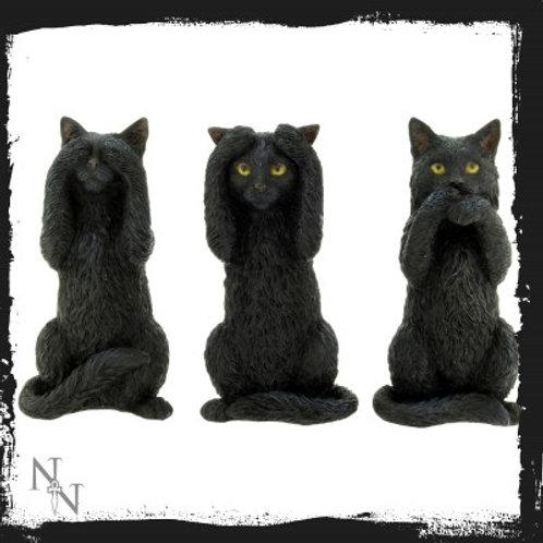 Three Wise Cats 9.5cm Luna Lakota