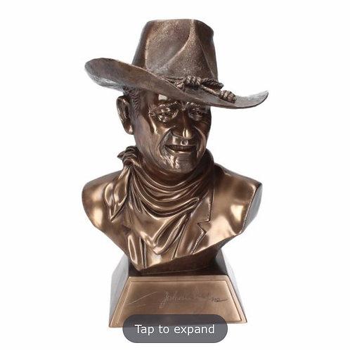 John Wayne bust