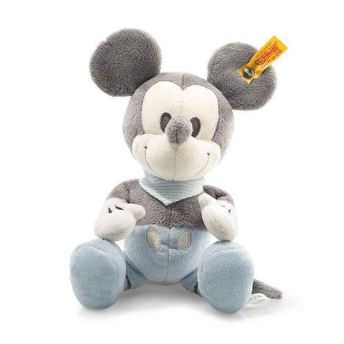 Mickey Mouse with squeaker and rustling foil