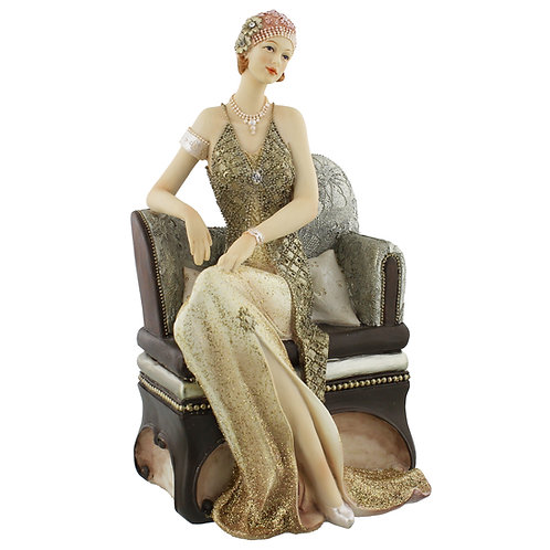 Broadway Belles Figurine - Valerie on Chaise Lounge
