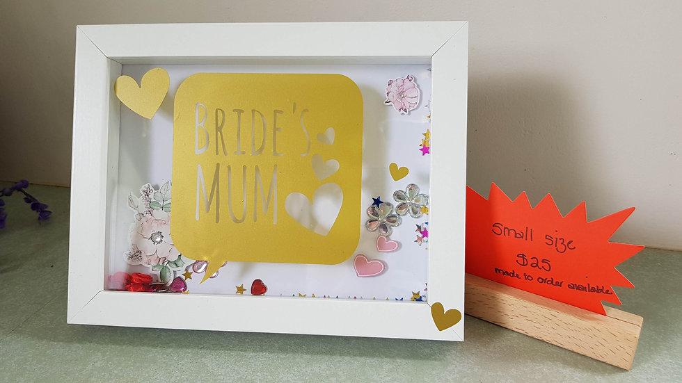 Bride's Mum frame