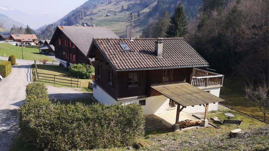 Chalet, Val d'Illiez