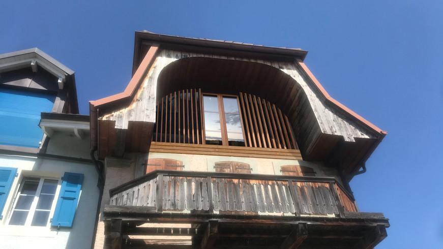 Maison vigneronne, Rivaz