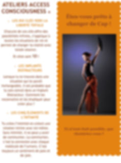 Ateliers Access Consciousness - sept 201
