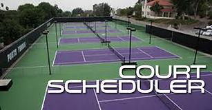 Performance Racquet Sports Court Scheduler