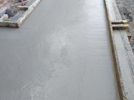 Pouring Concrete Slabs