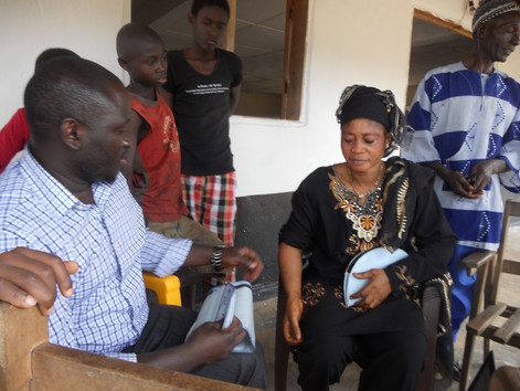 Investing in trained midwives across Liberia