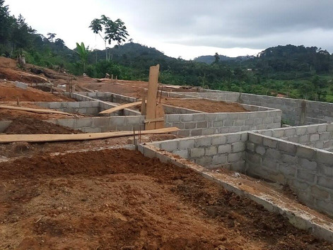 Pictures from our Clinic Construction site