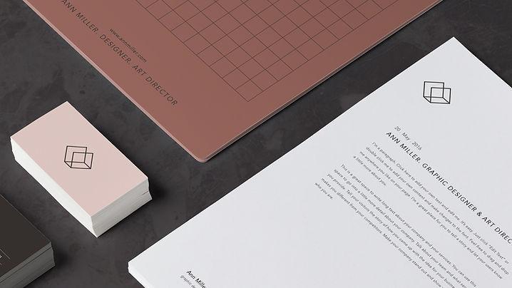 Büromaterial Entwurf