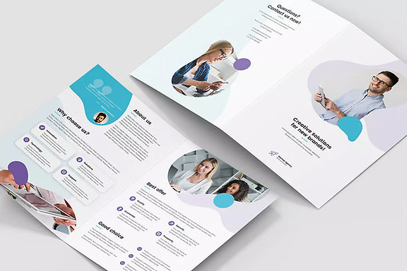 Brochure-StartUp-Agency-Bi-Fold-Envato-E