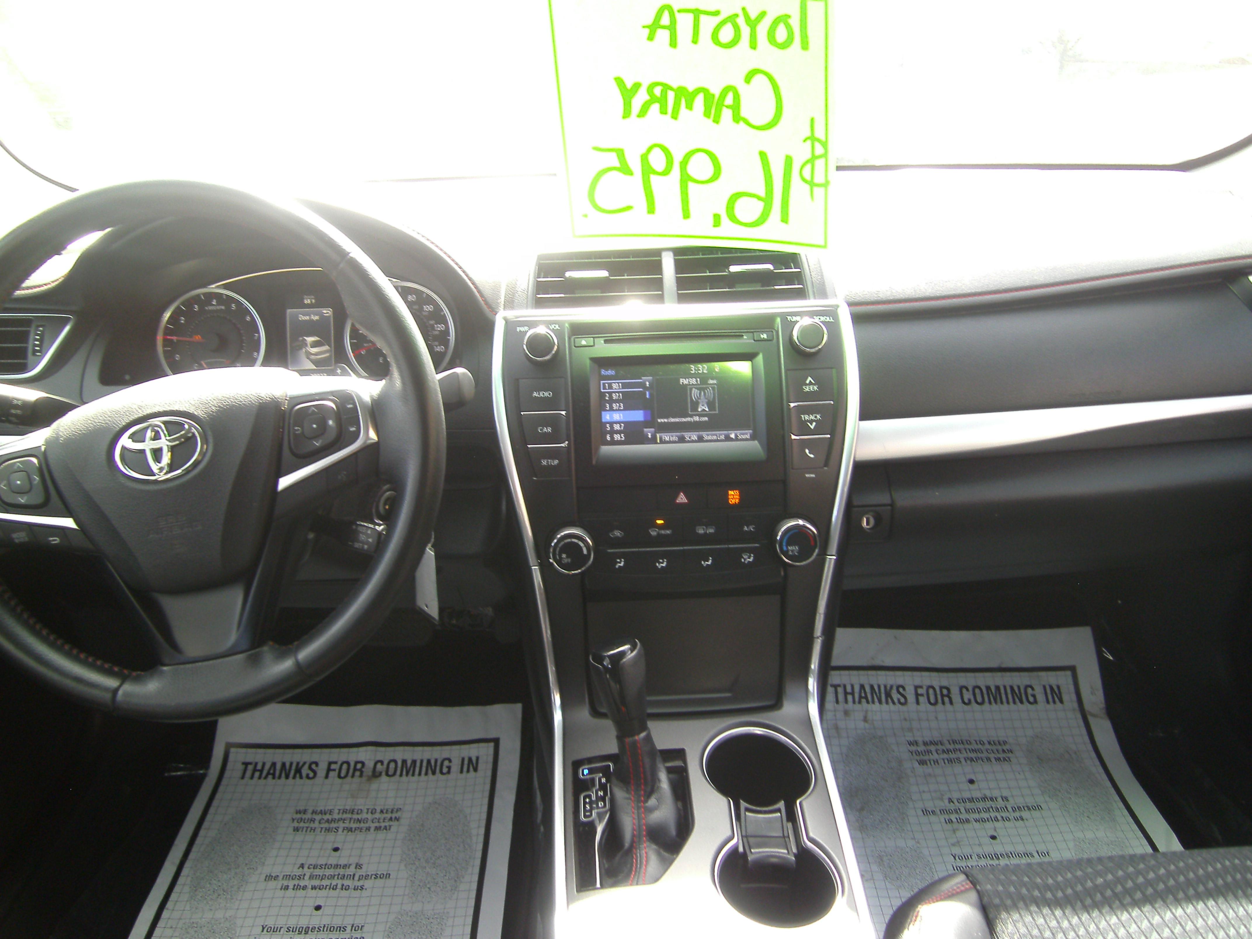 15 Toyota Camry