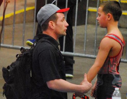 The hardest part of coaching wrestling! _You don't always win your battles, but it's good to know yo
