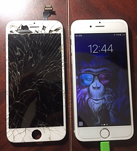IPhone 5S Screen Change