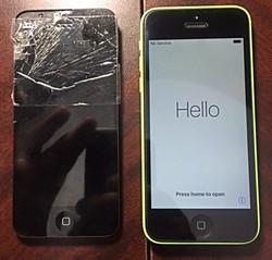 IPhone 5C screen change